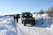Автомобильный рейв на острове Краснофлотский